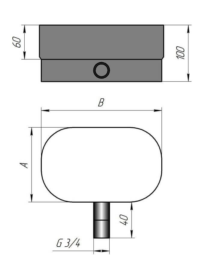Параметры конденсатоотводчика