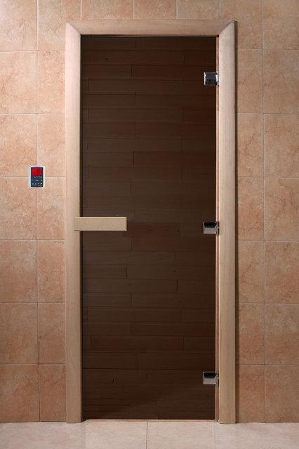 """Двери DoorWood 700*1900 """"Теплая ночь"""" (бронза матовая)"""