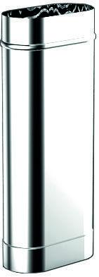 Труба-овал L500
