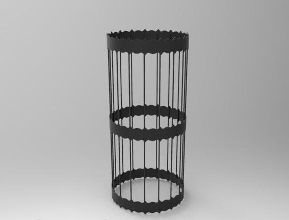 Сетка для камней стальная, окрашенная термостойкой краской