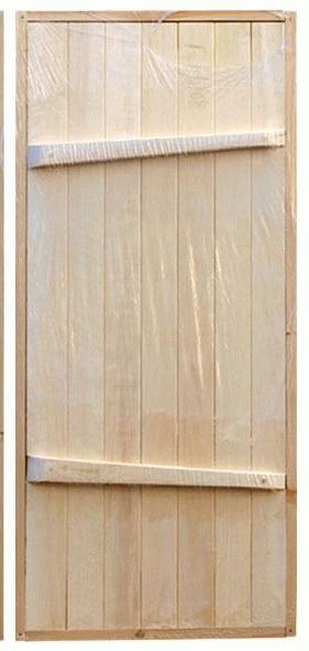 Дверь деревянная.
