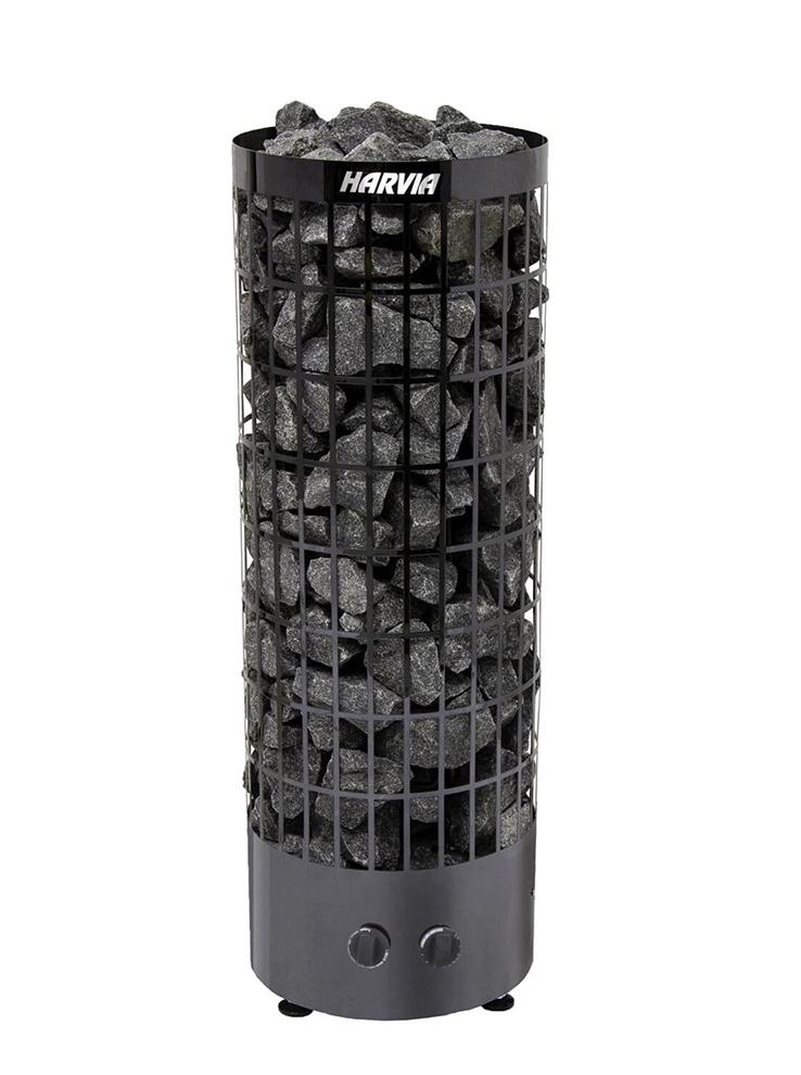 Печь для бани Harvia Cilindro PC90 Black Stell электрическая