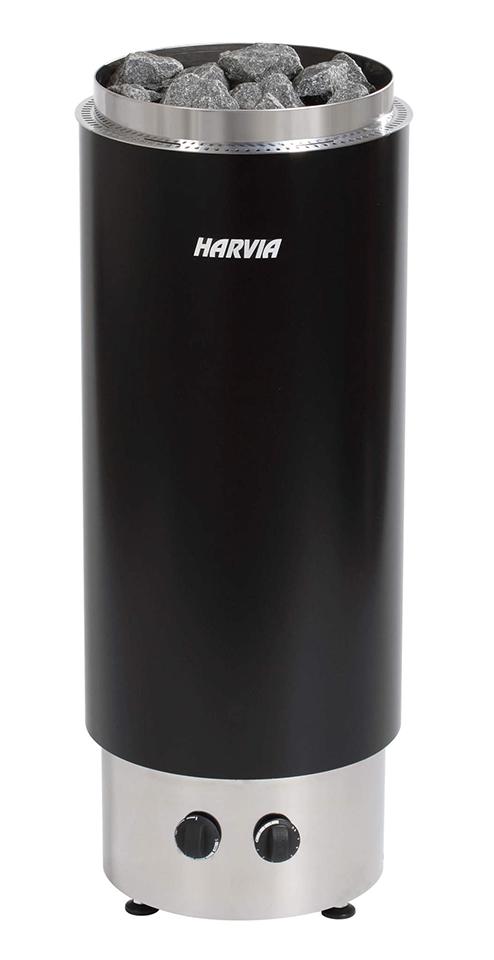 Печь для бани Harvia Cilindro PC70F электрическая, черная