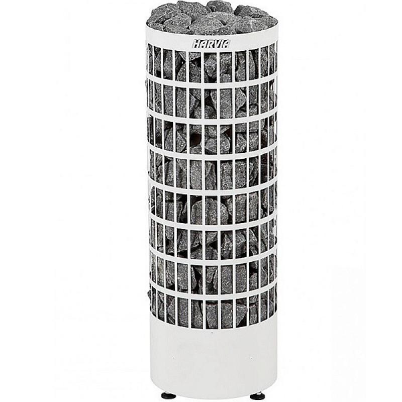 Печь для бани Harvia Cilindro PC70VE электрическая, белая