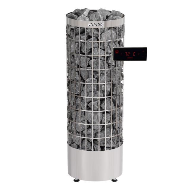 Печь для бани Harvia Cilindro PC110EE электрическая, пульт в комплекте