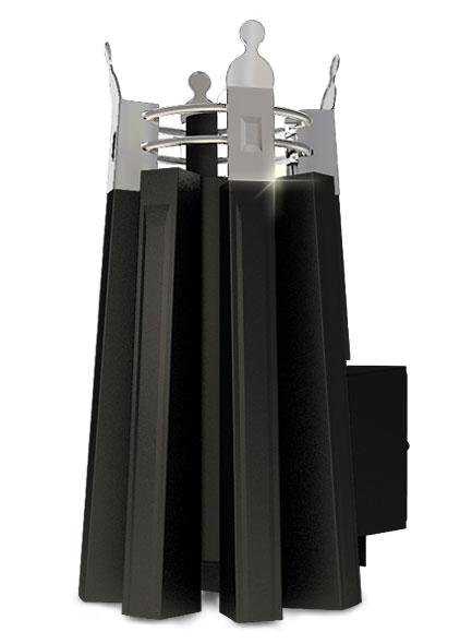 Императрица София стронг  в черном янтаре