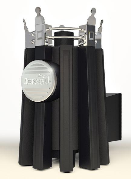 Императрица Августа панорамная в черном янтаре