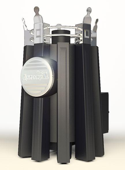 Императрица Фредерика со стеклом в черном янтаре
