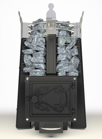 Императрица Фредерика стоун  в черном янтаре