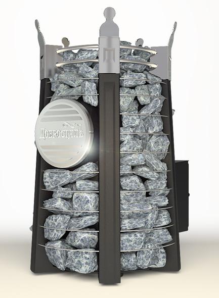 Императрица Фредерика стоун со стеклом в черном янтаре
